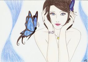 Request: The Blue Butterfly... by Sweetillita