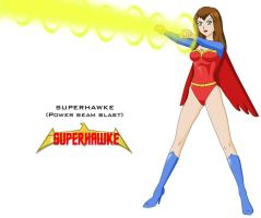 Supererhawke - power blast by Dangerman-1973