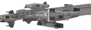 Bow-class corvette by SplinteredMatt