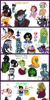 Iscribble Night 1 : Themes by dorkasslameo