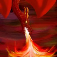 Ipod Touch Dragon of Fire by phoenixfyre6967