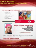 Cancer Treatment Abroad by PlacidWayUSA