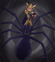Commission Rachnera by HowXu