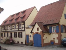 Old House in Lahr 2 by fioletta-stock