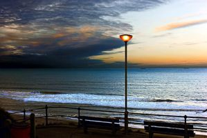 Dusk at Mundesley by Coigach