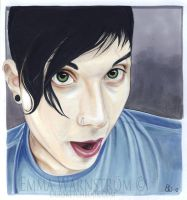 Frank Iero of My Chemical Romance 2 by Warnstrom