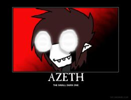 Azeth motivational poster by World9-2Productions
