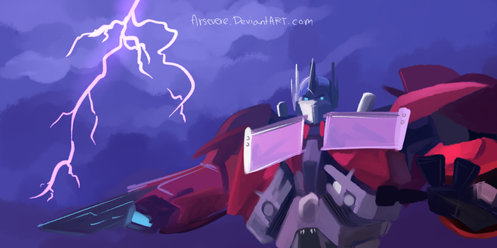 TFP Concept Art - Optimus by Arsevere