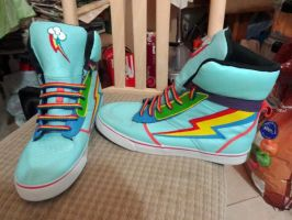 Rainbow Dash Shoes #2 by RizCifra