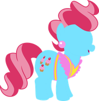 Mrs Cup Cake Vector by sumw1