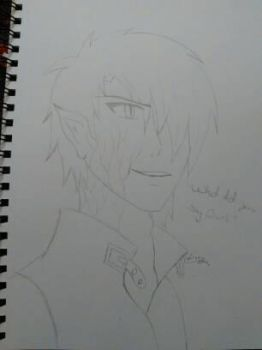 Dante sketch by ClaireRedfield826