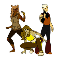 Tiger Squad by Sketchderps