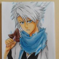 Toshiro Hitsugaya FMP Manga Summer 2013 Tournament by JoltKid