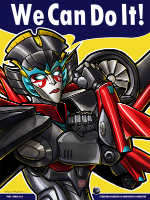 Windblade The Riveter by Laserbot