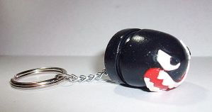 Mario - Bullet Bill keychain by ShiversTheNinja