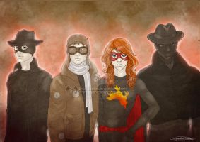 Misfits team by CristianaLeone