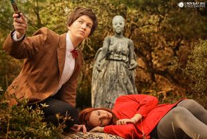 Doctor Who - Don't Open Your Eyes by CrystalPanda