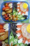 sunny quill egg bento by plainordinary1