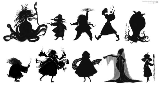Witch Concept Art by Kayetart