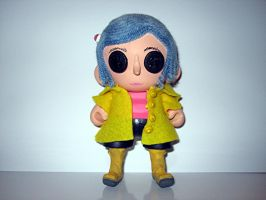 Coraline Doll by IHAVE77ISSUES