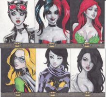 batman sketch cards for sale by songjong