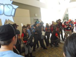 Otakon 2011: TF2 Photoshoot by LusheetaLaputa