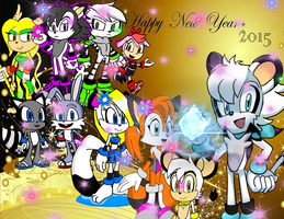 Happy New Year by Eric and his Friends by FrostTheHobidon