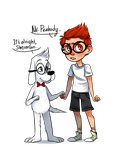 Mr. Peabody, Can I Hold Your Hand? by reezetto