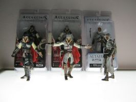 Assassin's Creed Figures by yamisionnach
