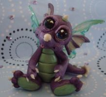 polymer clay wild thing eclips by crazylittlecritters