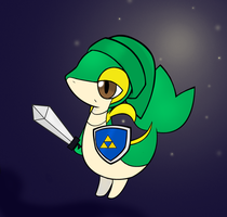 Link Snivy by PokeHihi