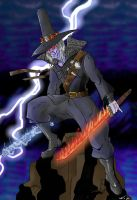 Chakan the Forever Man by Mawnbak