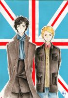 Sherlock BBC by Smilexdraw