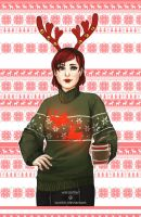 ME Christmas Sweaters - Shepard by Weissidian