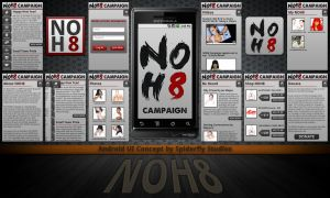 NOH8 for Android and iPhone by kahil