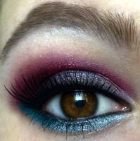 night time look + lashes by KatelynnRose