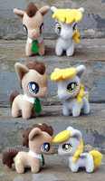 Dr. Whooves and Derpy More Views by UltraPancake