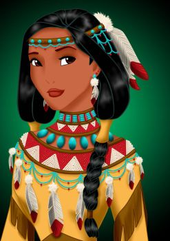 Royal Jewels: POCAHONTAS by MissMikopete
