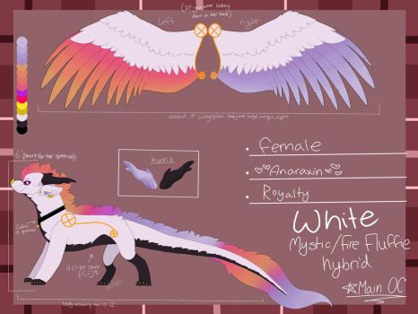 White's Reference sheet by Milo-On-The-Moon