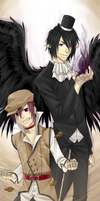 :DS: Abel and Axal by Inupii
