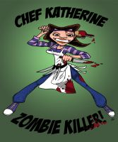 Chef Zombie Killer by TheNoirGuy