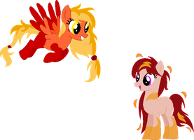 Fire pony adopts CLOSED by Laser-Pancakes