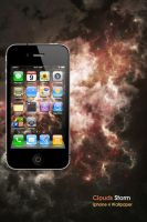 iPhone4 Clouds Storm Wallpaper by Martz90