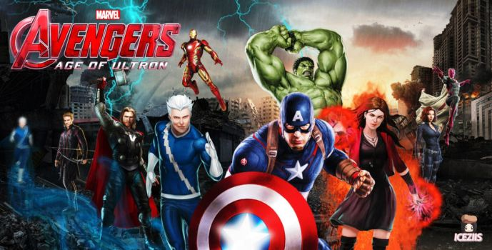 Avengers: Age of Ultron by icequeen654123