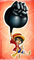 Monkey D. Luffy by Umi-no-Rex