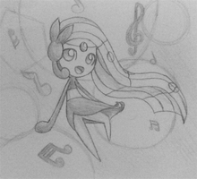 Holiday Challenge! Day 23 - Legendary - Meloetta by LolloTheVaporeon