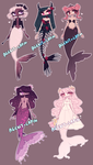 MERMAID ADOPTS by agent-lapin