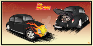 '69 Hot Rod VW by GabeRios