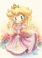 Princess Peach by rue789