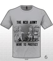 The NCR Army by Zielle
